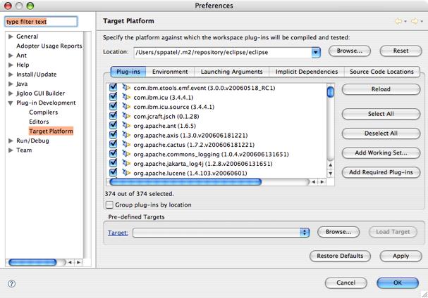 Apache Geronimo v1 1 Documentation : Geronimo Eclipse Plugin FAQ