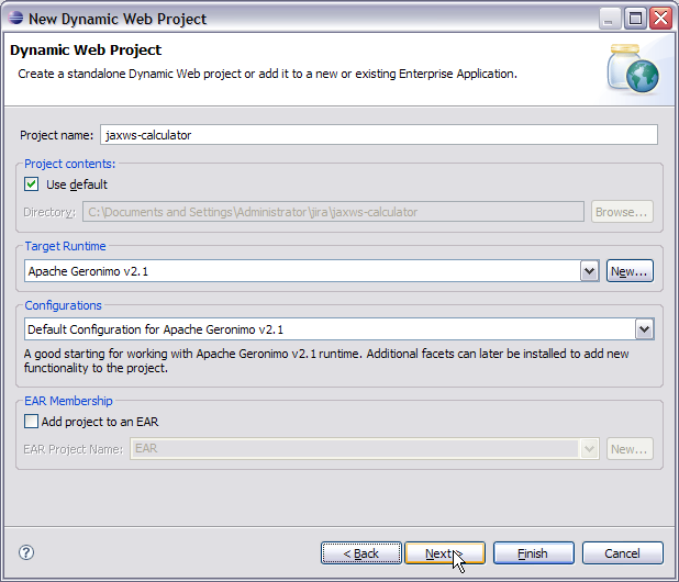 Apache Geronimo v2 2 Documentation: Developing a simple